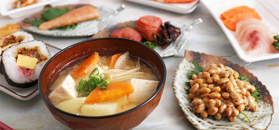 季節の食材を使った美味しい食事